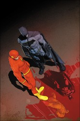 DC - Flash # 21 (The Button) International Cover