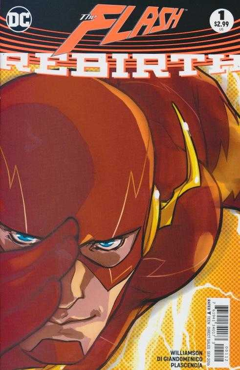 DC - Flash Rebirth # 1 2nd Printing