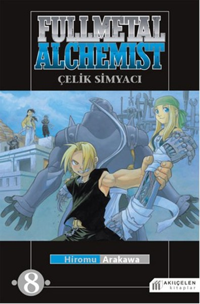 Akılçelen - Fullmetal Alchemist - Çelik Simyacı Cilt 8