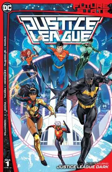 DC - FUTURE STATE JUSTICE LEAGUE # 1 (OF 2) CVR A DAN MORA