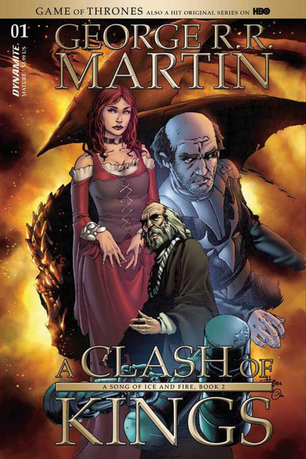 Dynamite - Game of Thrones Clash of Kings # 1 Rubi Variant