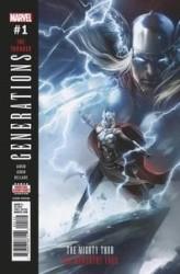 Marvel - Generations Unworthy Thor - Mighty Thor # 1 2nd Ptg Mattina Variant