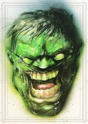 Diğer - Görkem Demir Limited Edition Holo Sketch Card #23 Hulk