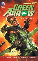 DC - Green Arrow (New 52) Vol 1 The Midas Touch TPB