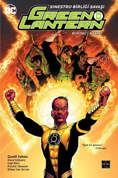 Arkabahçe - Green Lantern Cilt 6 Sinestro Birliği Savaşı Birinci Kısım
