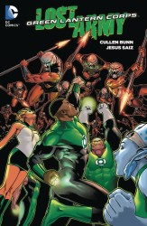 DC - Green Lantern Corps The Lost Army TPB