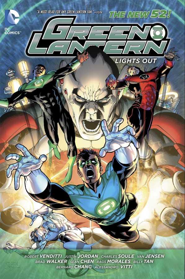 DC - Green Lantern (New 52) Lights Out TPB