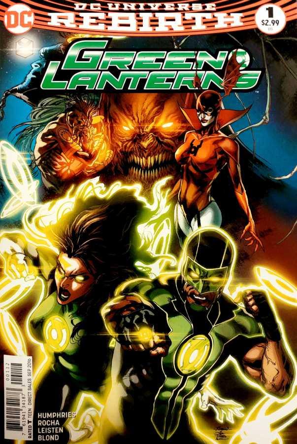 DC - Green Lanterns # 1 2nd PTG
