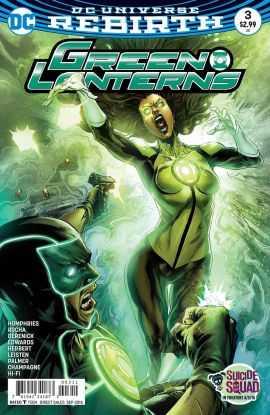 DC - Green Lanterns # 3