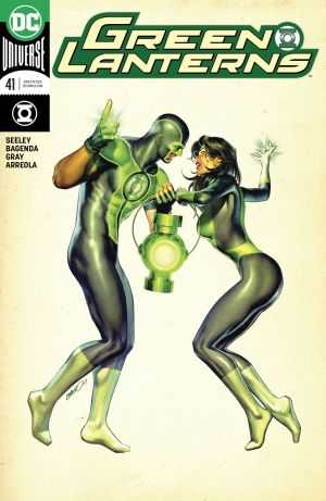 DC - Green Lanterns # 41 Variant