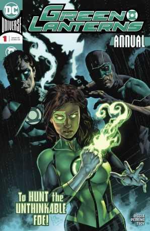 DC - Green Lanterns Annual # 1