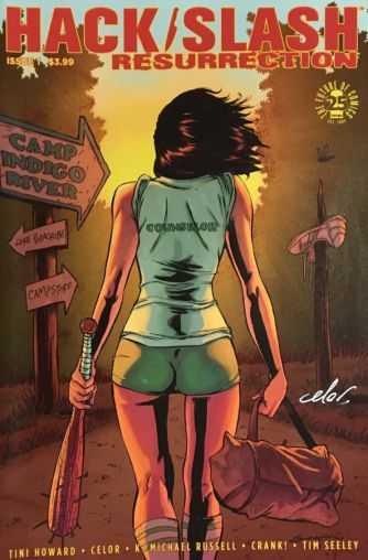 Image - Hack Slash Resurrection # 1 Tim Seeley Cover A Celal Koç İmzalı