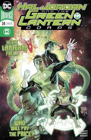 DC - Hal Jordan And The Green Lantern Corps # 34