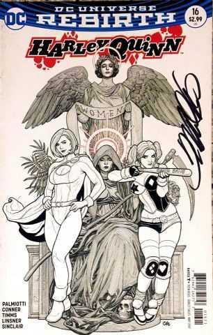 DC - Harley Quinn # 16 Frank Cho Variant Frank Cho İmzalı Sertifikalı