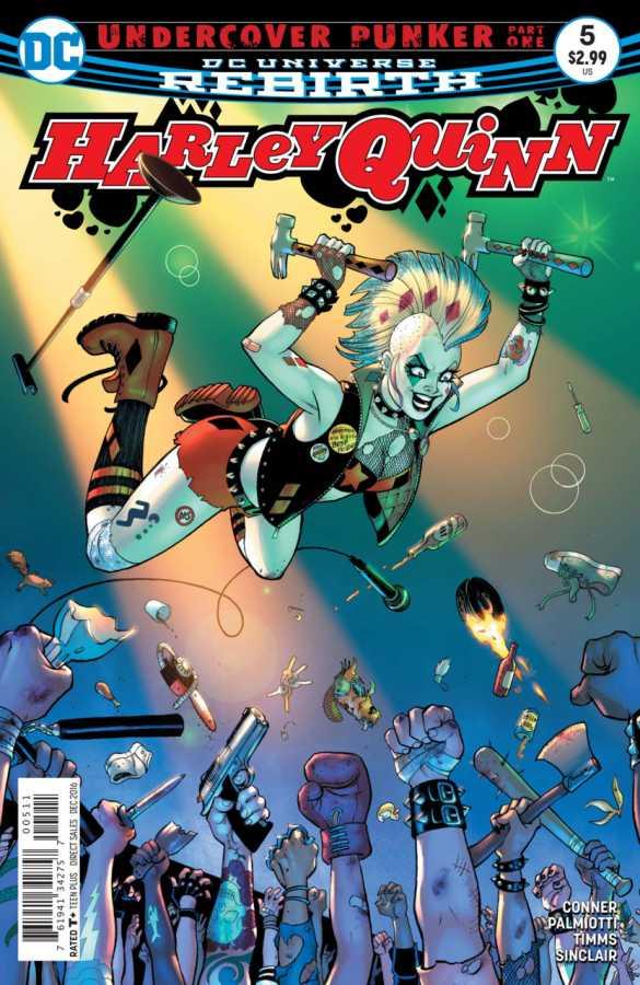 DC - Harley Quinn # 5