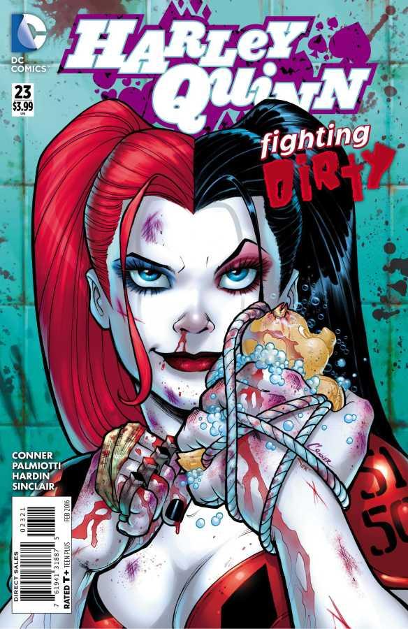 DC - Harley Quinn (New 52) # 23 1:25 Amanda Conner Variant