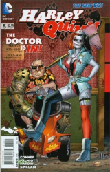 DC - Harley Quinn (New 52) # 5 Second Printing Variant