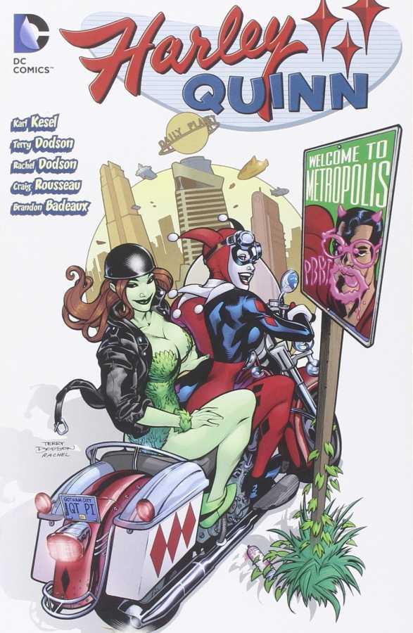 DC - Harley Quinn Welcome to Metropolis TPB