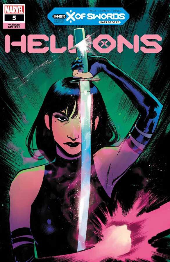Marvel - Hellions # 5 Sara Pichelli Variant