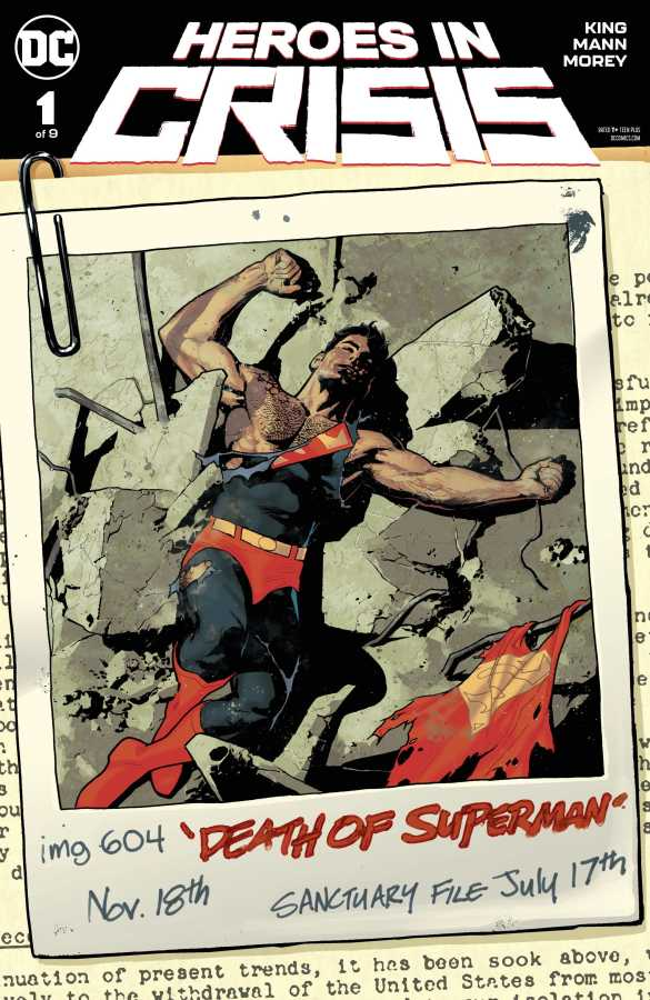 DC - Heroes In Crisis # 1 Variant