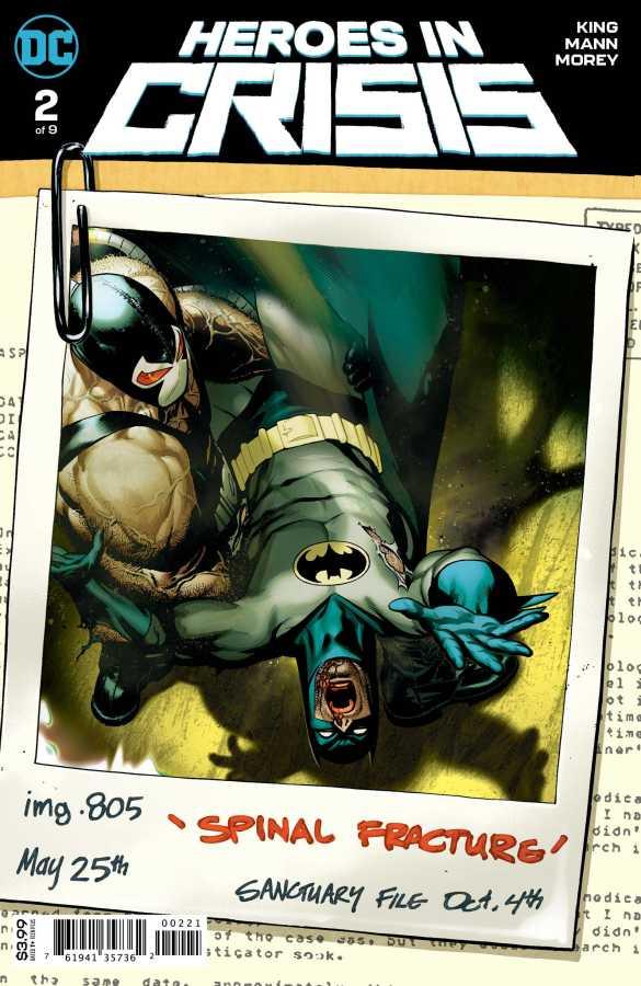 DC - Heroes In Crisis # 2 Variant