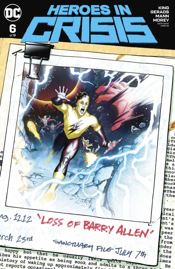DC - Heroes In Crisis # 6 Variant