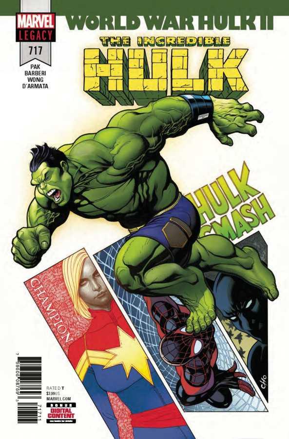 Marvel - Incredible Hulk # 717
