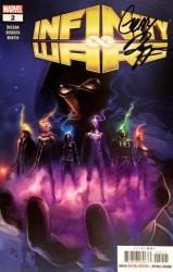Marvel - Infinity Wars # 2 Gerry Duggan İmzalı Sertifikalı