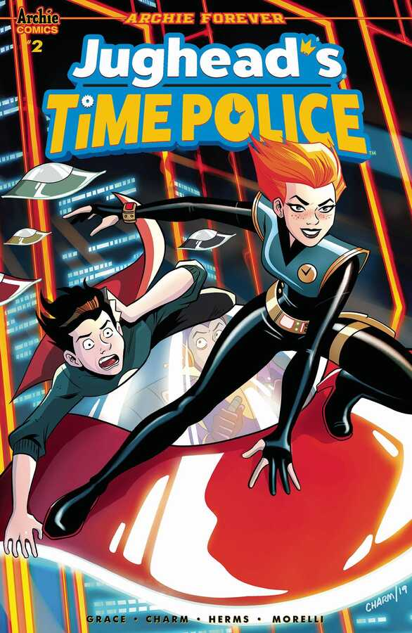 Archie Comics - JUGHEAD TIME POLICE # 2 (OF 5) CVR A CHARM