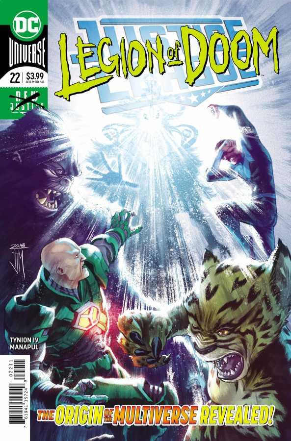 DC - Justice League (2018) # 22