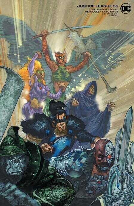DC - Justice League (2018) # 55 (DARK NIGHTS DEATH METAL) Simone Bianchi Variant
