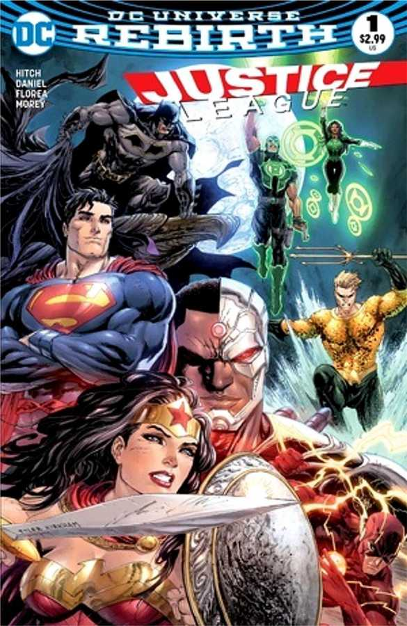 DC - DF Justice League # 1 Exclusive Variant