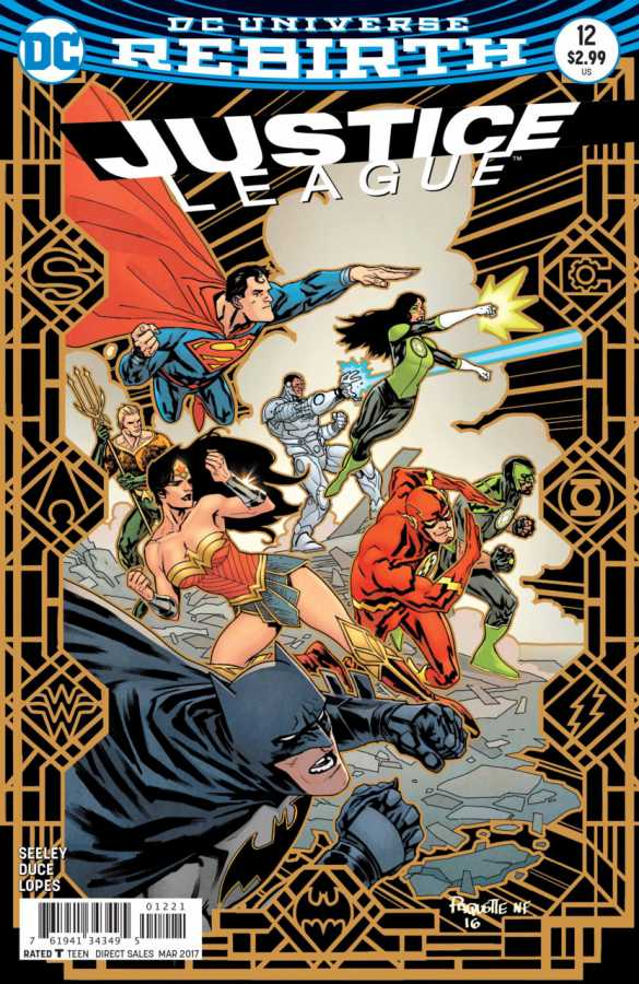 DC - Justice League # 12 Variant
