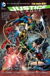 DC - Justice League (New 52) Vol 3 Throne of Atlantis TPB