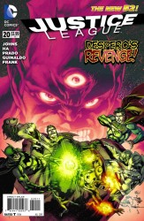 DC - Justice League (New 52) # 20