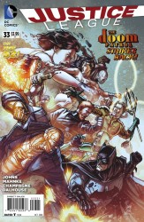 DC - Justice League (New 52) # 33 1:25 Variant