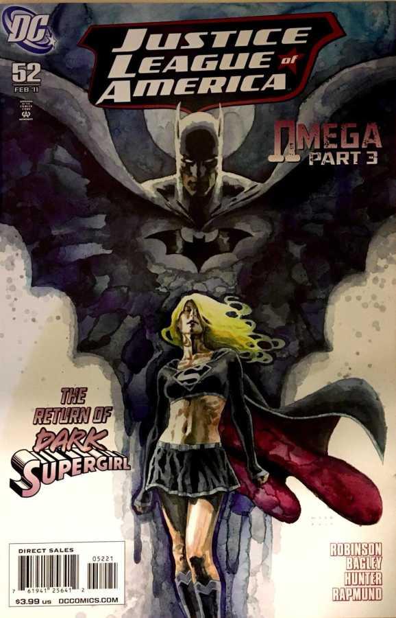DC - Justice League Of America (2006) # 53 1:10 David Mack Variant