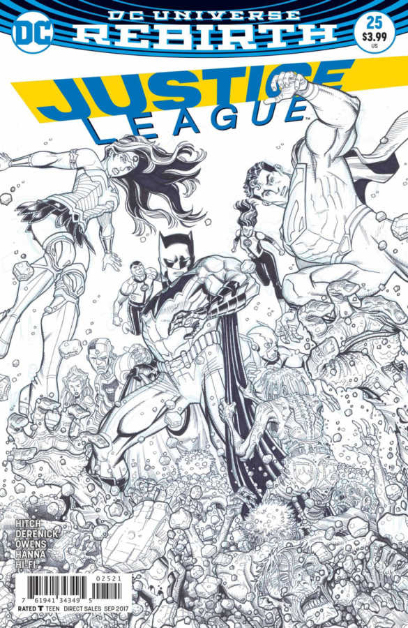 DC - Justice League # 25 Variant