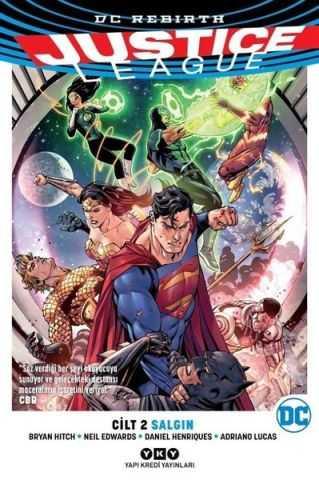 YKY - Justice League (Rebirth) Cilt 2 Salgın