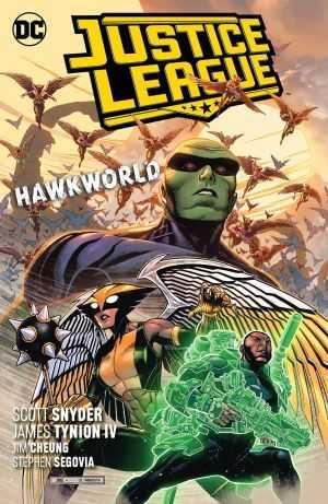 DC - Justice League Vol 3 Hawkworld TPB
