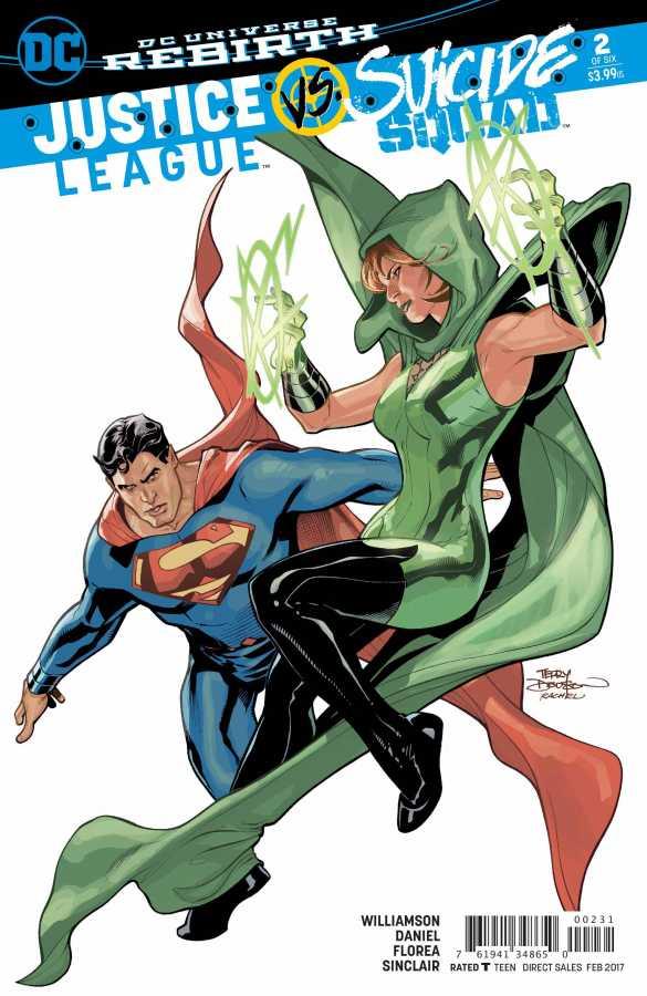 DC - Justice League vs Suicide Squad # 2 Terry Dodson Variant