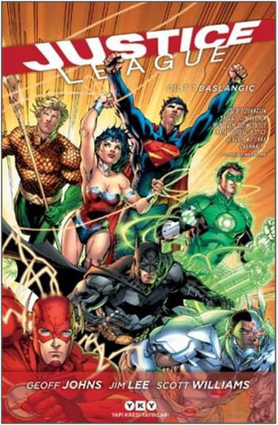 YKY - Justice League (Yeni 52) Cilt 1 Başlangıç Yeni Baskı