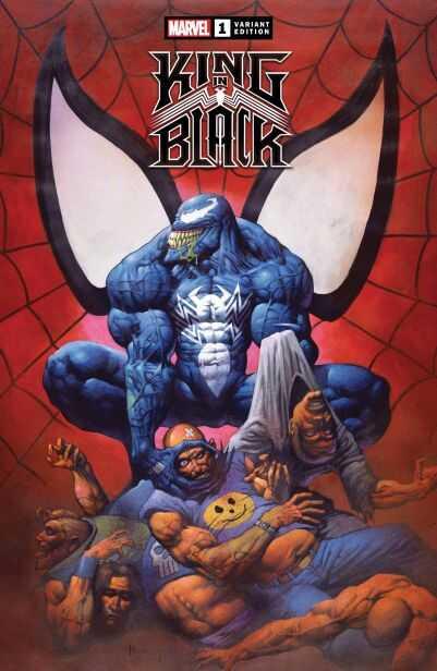 Marvel - King In Black # 1 1:100 Horley Hidden Gem Variant
