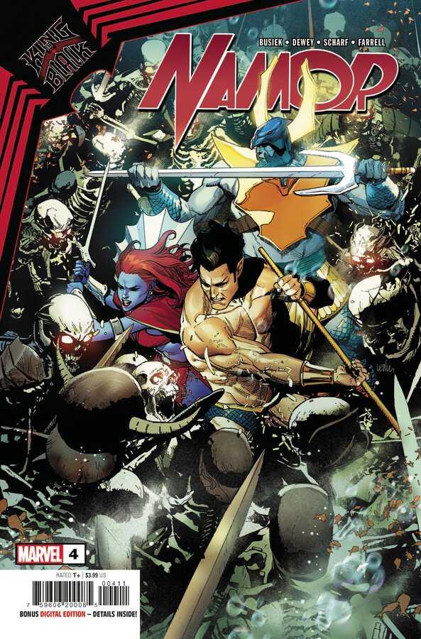Marvel - KING IN BLACK NAMOR # 4 (OF 5)