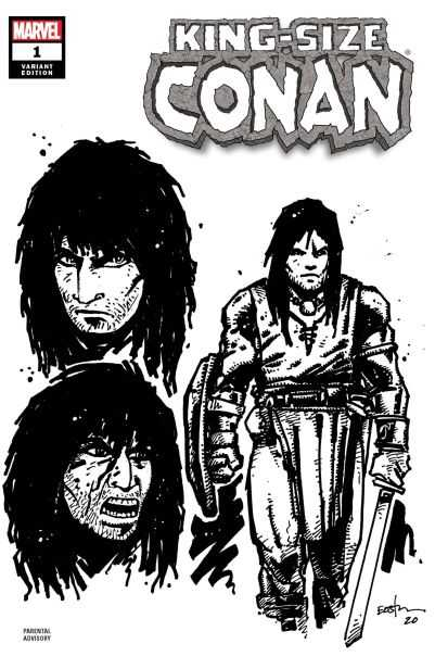 Marvel - King Size Conan # 1 Eastman Design Variant