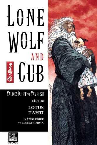 Lone Wolf And Cub - Yalnız Kurt Ve Yavrusu Cilt 28 Lotus Tahtı