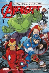 Marmara Çizgi - Marvel Action Avengers Sayı 1