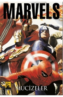 Arkabahçe - Marvel Mucizeler Avengers Kapak