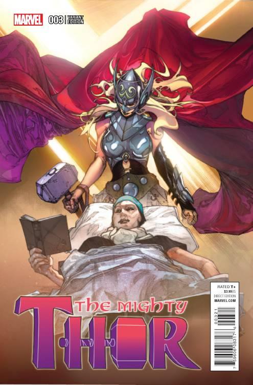 Marvel - Mighty Thor # 3 1:25 Bianchi Variant