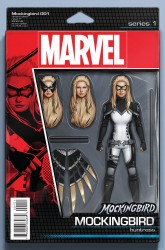 Marvel - Mockingbird # 1 Action Figure Variant